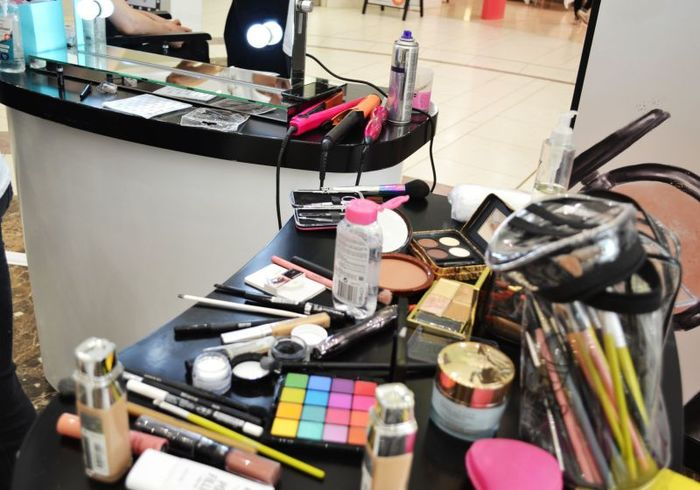 2 - Selection of make up and cosmetics